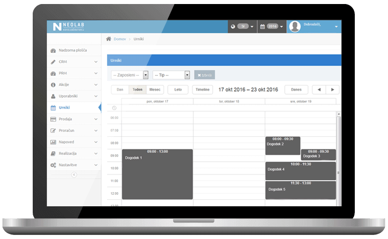 Case Study: Neolab Budgeting Tool with Scheduler