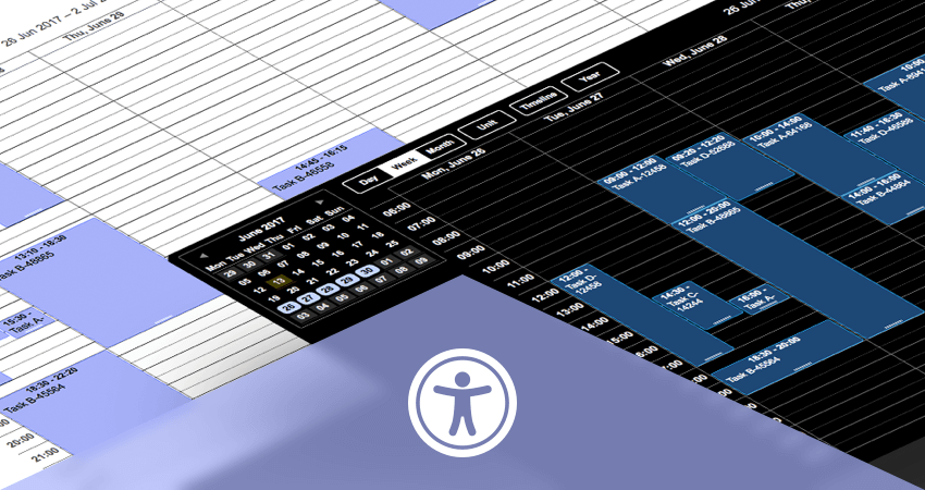 DHTMLX Scheduler.NET 3.4 is Out: Accessibility Support and Useful Enhancements