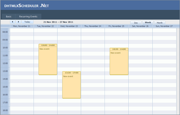 vb scheduler